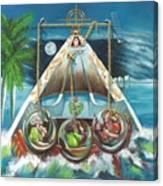 La Virgen De La Caridad Del Cobre En Miami Canvas Print