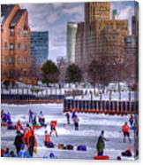 Labatt Pond Hockey 2011 Canvas Print