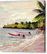 Laborie Beach  Canvas Print