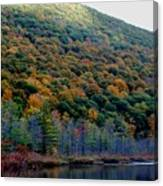 Labrador Pond Hillside Canvas Print