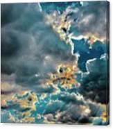 Labradorite Rain Canvas Print