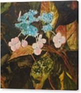 Lace Cap 2 Canvas Print