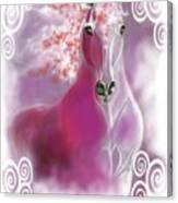Lace II Canvas Print