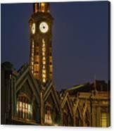 Lackawanna Clock Tower Canvas Print