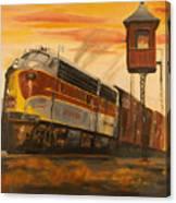 Lackawanna Fast Freight Canvas Print