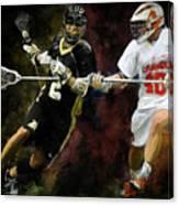 Lacrosse Close D #2 Canvas Print