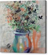 Lacy Bouquet Canvas Print