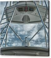 Ladders On A Fishing Boat Canvas Print