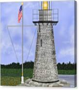 Ladies Delight Lighthouse Maine Canvas Print