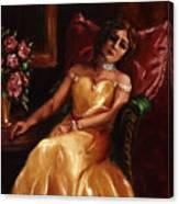 Lady Catherine Canvas Print
