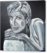 Lady Di Canvas Print