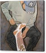 Lady Gaga Boots Canvas Print
