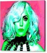 Lady Gaga Canvas Print