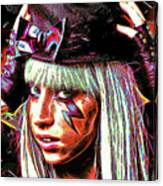 Lady Gaga Canvas Print