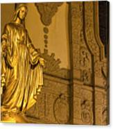 Lady In Gold Canvas Print