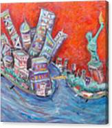 Lady Liberty Canvas Print