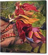 Lady Lunete Canvas Print