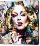 Lady Maddy Canvas Print