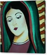 Lady Of Guadalupe Canvas Print