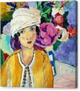 Lady Of Le Piviones Canvas Print