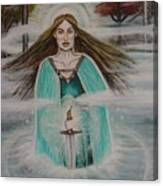 Lady Of The Lake II Canvas Print