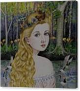 Lady Of The Lake Canvas Print