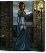 Lady Of The North Canvas Print