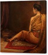 Lady Of The Palace Canvas Print