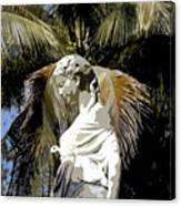 Lady Of The Palms Canvas Print