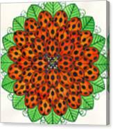 Ladybug Design Canvas Print