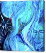 Laeyfe Becomes The Aurora Canvas Print