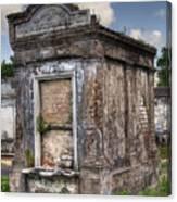 Lafayette Crypt 2 Canvas Print
