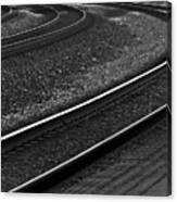 Lafayette Tracks Canvas Print