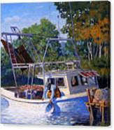 Lafitte Skiff Canvas Print