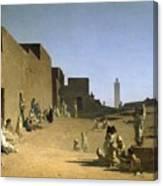 Laghouat In The Algerian Sahara Canvas Print