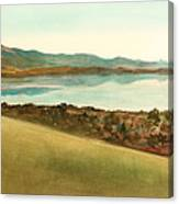 Lago Del Coghinas Canvas Print