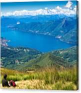 Lago Maggiore Italy Switzerland Canvas Print