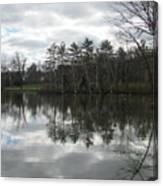Lagoon Reflection 1 Canvas Print