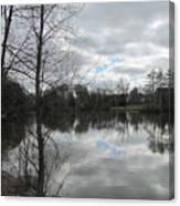 Lagoon Reflections 2 Canvas Print