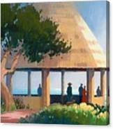 Laguna Gazebo Canvas Print