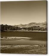 Laguna Mucubaji - Andes Canvas Print