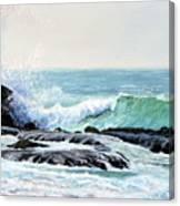 Laguna Splash Canvas Print