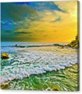 Laguna Tides Canvas Print