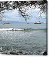 Lahaina Beach Canvas Print