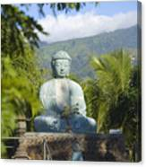 Lahaina Buddha At Jodo  Canvas Print