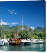 Lahaina Harbor - Maui Canvas Print
