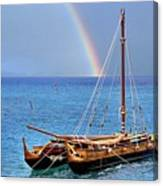 Lahaina Harbor Canvas Print