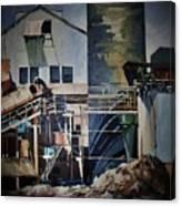 Lahaina Sugar Mill Canvas Print