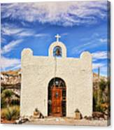 Lajitas Chapel 1 Canvas Print