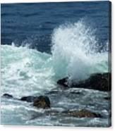 Lajolla Surf Canvas Print